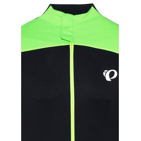 PEARL iZUMi P.R.O. Pursuit LS Wind Jersey Men Black/Screaming Green